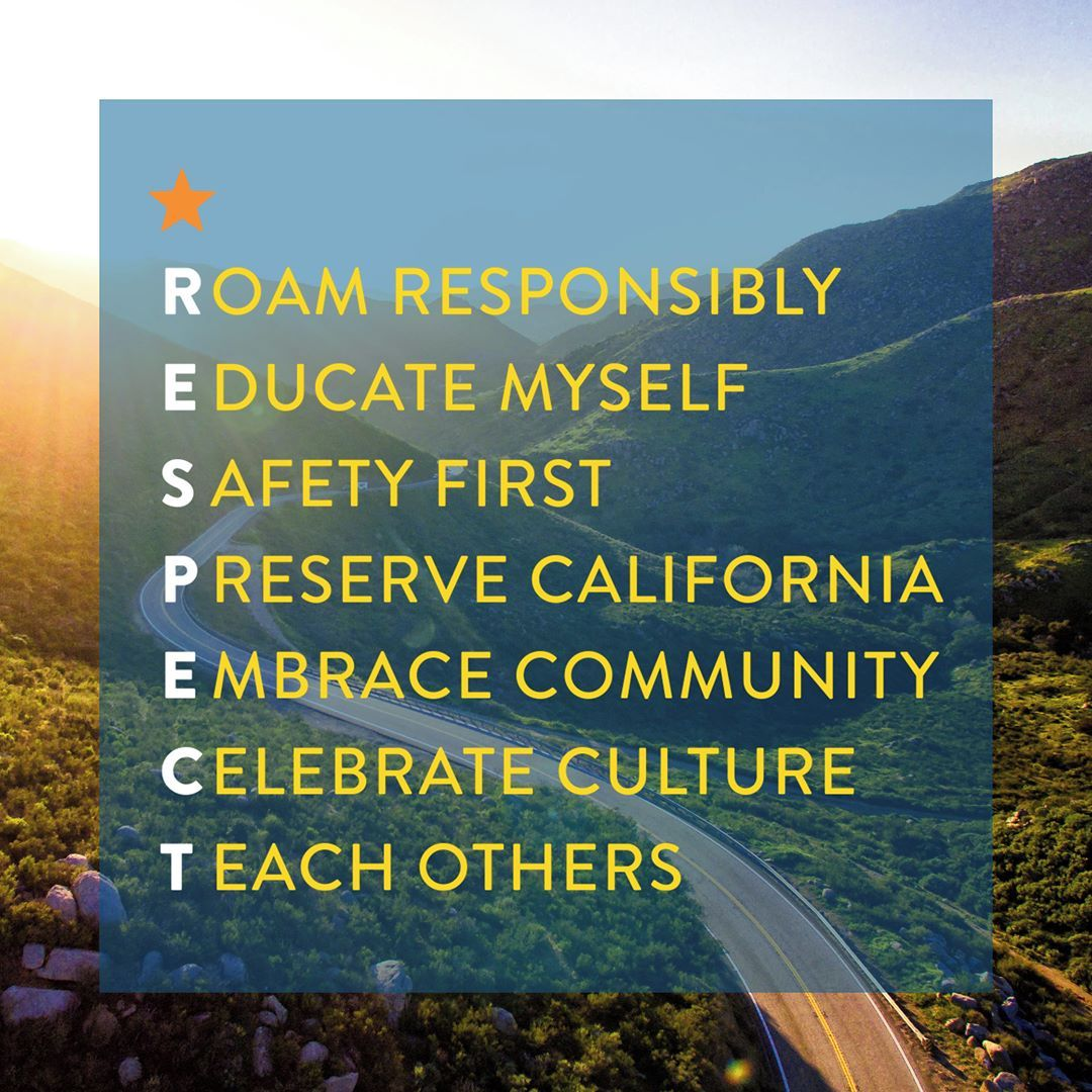 California Responsible Travel Code