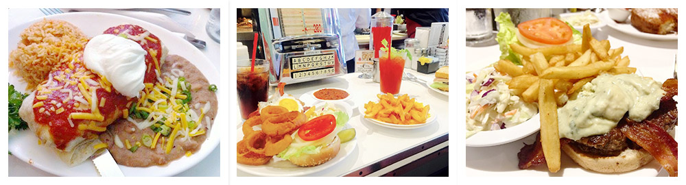 Cafe 50\'s-West Los Angeles-food Images