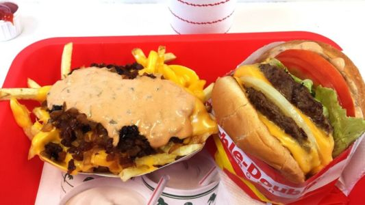 In-N-Out Burger Salinas - Combo 4