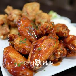 Pitch And Fiddle Chicken Wings